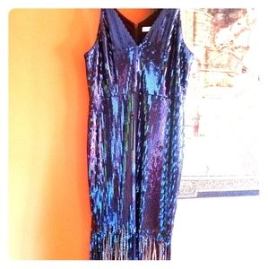 NWOT sequins party Dress the population dress